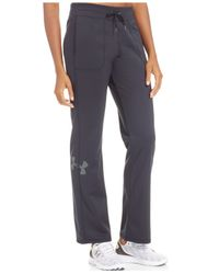 Under Armour | Gray Rival Warm-up Pants | Lyst
