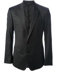 Dolce & Gabbana | Black Two Button Suit for Men | Lyst