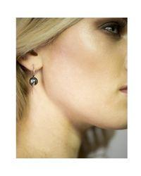 Lee Renee - Metallic Cathy Pearl Earrings - Lyst