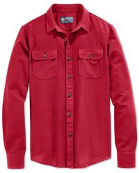 American Rag | Red Cooper Flannel Shirt for Men | Lyst