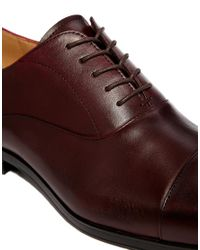 ALDO - Red Mesnier Leather Oxford Shoes for Men - Lyst
