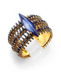Erickson Beamon | Blue Queens Ransom Bracelet | Lyst