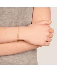 Dutch Basics | Metallic Cylinder Bracelet Rose Gold | Lyst