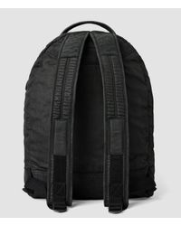 AllSaints - Black Pax Rucksack for Men - Lyst
