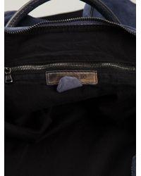 Numero 10 - Blue 'Monzeglio' Luggage Bag for Men - Lyst
