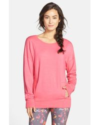 Zella - Pink 'amore' Pullover - Lyst