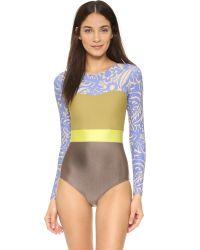 Seea | Brown Hermosa Surf Suit | Lyst