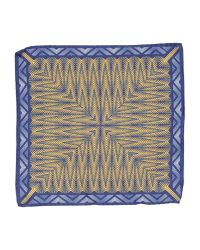 Hardy Amies | Blue Square Scarf for Men | Lyst