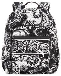 Vera Bradley | Black Campus Backpack | Lyst
