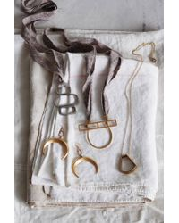 Anthropologie | Metallic Saskia Necklace | Lyst