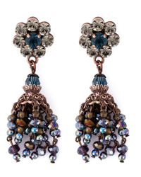 DSquared² - Multicolor Flower Earrings - Lyst