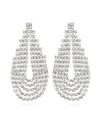 Elizabeth Cole | Metallic West Earrings | Lyst