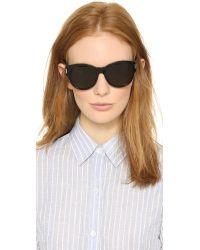 Saint Laurent | Black Classic Sunglasses - Dark Havana/brown Gradient | Lyst