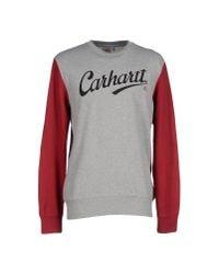Carhartt | Gray Sweatshirt for Men | Lyst