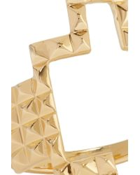 Elizabeth and James - Metallic Kota Gold-plated Ring - Lyst