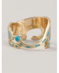 Marc Alary | Blue Panther Ring | Lyst