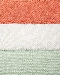 Eileen Fisher - Orange Linen Knit Mini Tape Box Top - Lyst