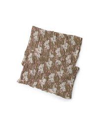 Denim & Supply Ralph Lauren - Brown Floral Cotton Gauze Scarf - Lyst