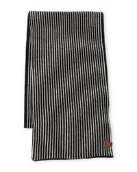 Ben Sherman - Black Stripe Knit Scarf for Men - Lyst