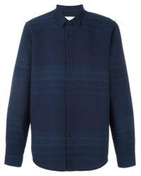 Folk - Blue 'fog' Shirt for Men - Lyst