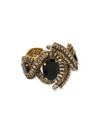 Aerin Erickson Beamon - Black Triple Gemstone Bracelet - Lyst