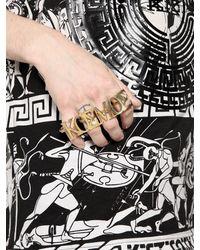 KTZ - Metallic Kosmos 4 Finger Ring - Lyst