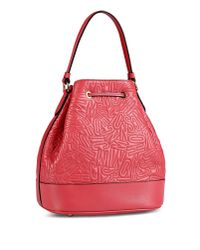 Moschino | Red Medium Leather Bag | Lyst