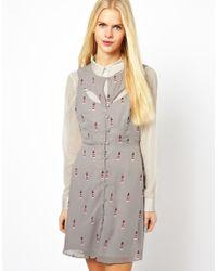 Sugarhill | Gray Lighthouse Dress | Lyst