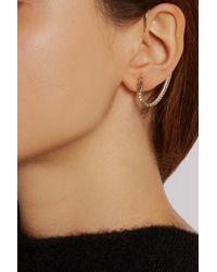 Isabel Marant | Metallic Gold-tone Ear Cuff | Lyst