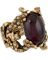Oscar de la Renta | Purple Filigree Ring - For Women | Lyst