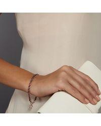 Biography - Red Spinel Heart Bracelet - Lyst