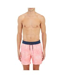 Venroy - Pink Photo-real Swim Shorts for Men - Lyst