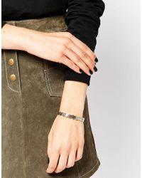 KENZO | Metallic Gold Plated Tiger Hearring Bracelet | Lyst