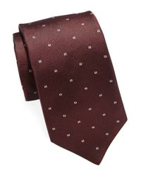 Michael Kors | Purple Patterned Silk Tie for Men | Lyst