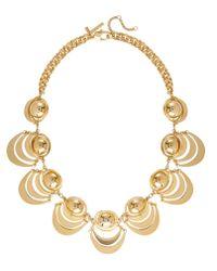 Lele Sadoughi | Metallic Orbit Necklace Gold | Lyst