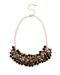 Coast | Metallic Ombre Cluster Necklace | Lyst