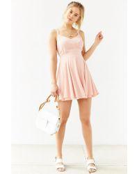Kimchi Blue - Pink Scarlett Fit + Flare Dress - Lyst