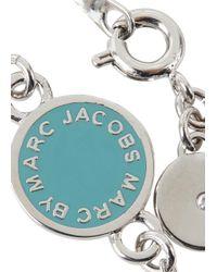 Marc By Marc Jacobs - Blue Aqua Enamel Disc Bracelet - Lyst