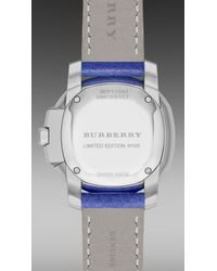 Burberry Brit - Blue The Britain S/S15 Runway Limited Edition Bby17084 34Mm - Lyst