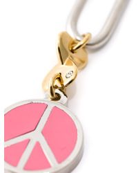 Marc By Marc Jacobs | Pink Peace Dangle Earrings | Lyst