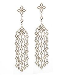 Dinny Hall | Metallic Silver Almaz Large Multi Drop Earrings | Lyst