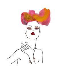 Pamela Love - Pink Rose Gold Serpent Bangle - Lyst
