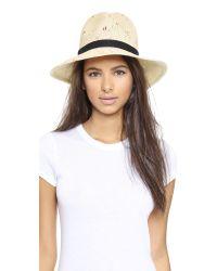 Eugenia Kim - Natural Courtney Hat - Ivory Multi - Lyst