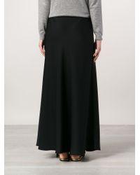 The Row - Black 'annistyn' Skirt - Lyst