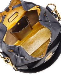 Ralph Lauren | Blue Nappa Ricky Drawstring Bag | Lyst