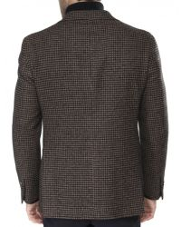 Jules B - Brown Dogtooth Jacket for Men - Lyst