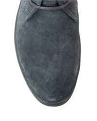 Calvin Klein | Gray Nowles Suede Chukka Boots for Men | Lyst