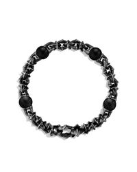 David Yurman | Black Armory Medium Link Bracelet for Men | Lyst