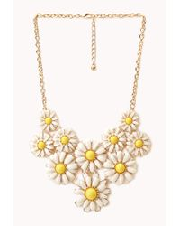 Forever 21 - Multicolor Daisy Darling Bib Necklace - Lyst