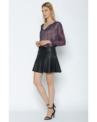Joie - Purple Suzettea Silk Blouse - Lyst